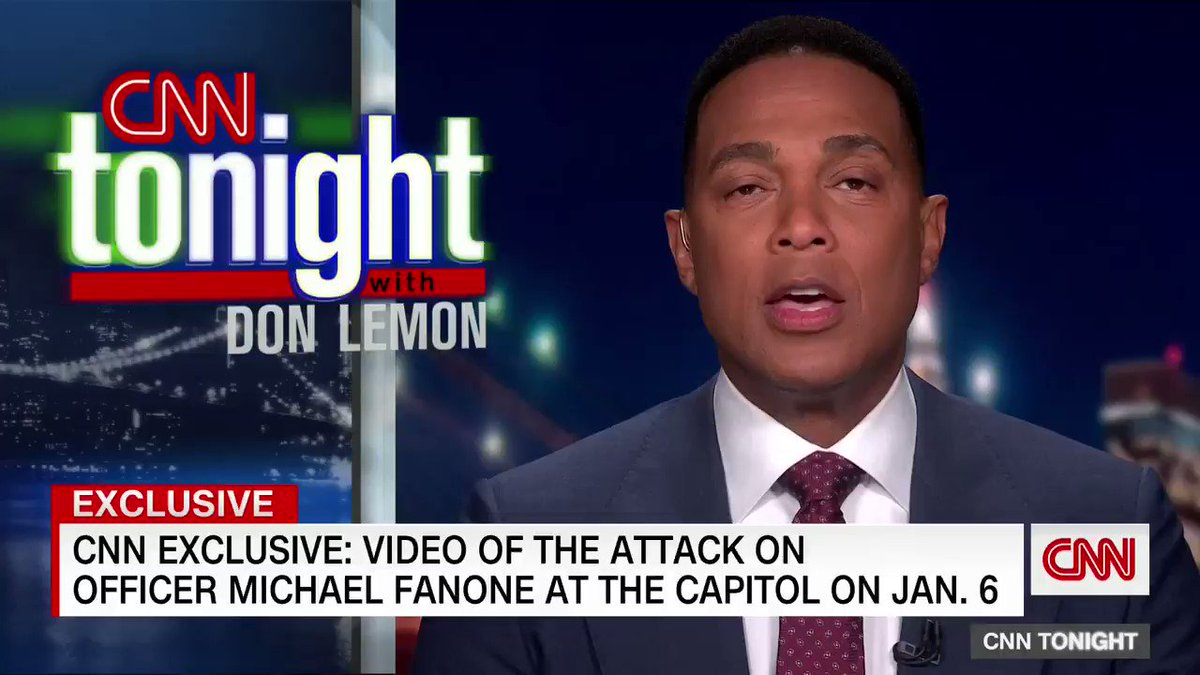 EXCLUSIVE: @CNN has obtained bodycam video showing the attack on DC Metropolitan Police Officer Michael Fanone during the Jan. 6 insurrection.   Fanone was stun-gunned several times and beaten with a flagpole. Watch: