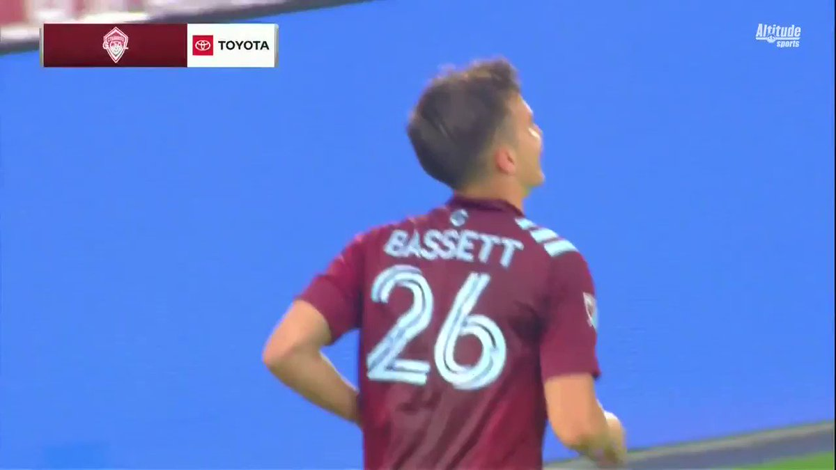 Cole Bassett notches another one for @ColoradoRapids! #COLvHOU https://t.co/lqWUnIBF3D