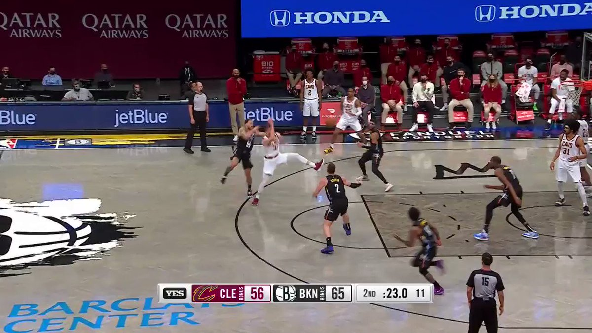 RT @Ballislife: ICYMI: Brooklyn Nets with a Play Of The Year nominee!  https://t.co/OeOX609NPc