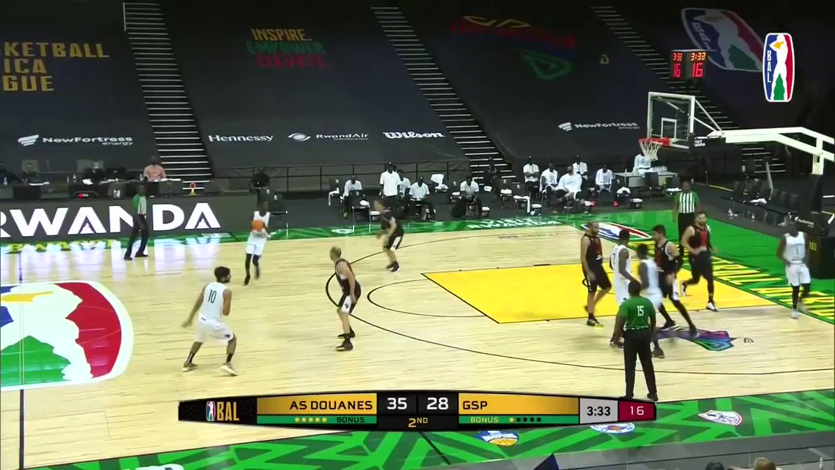 Mamadou Lamine Diop's 18 PTS, 9 REB performance for #AS_DOUANES earned him the @visitrwanda_now Player of the Game award #theBAL https://t.co/b7CMDVHLef