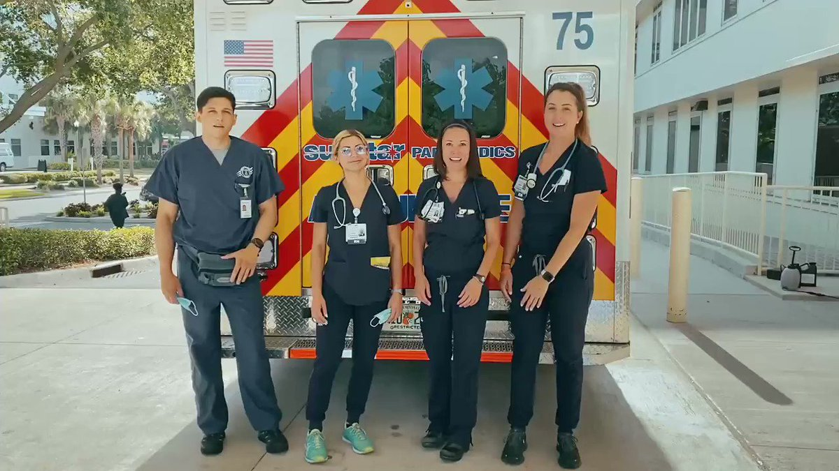 To all of our EMS personnel, thank you for your dedication to our community.  #ChooseBayfrontHealth #NationalEMSWeek https://t.co/V4ZBTYNcGt