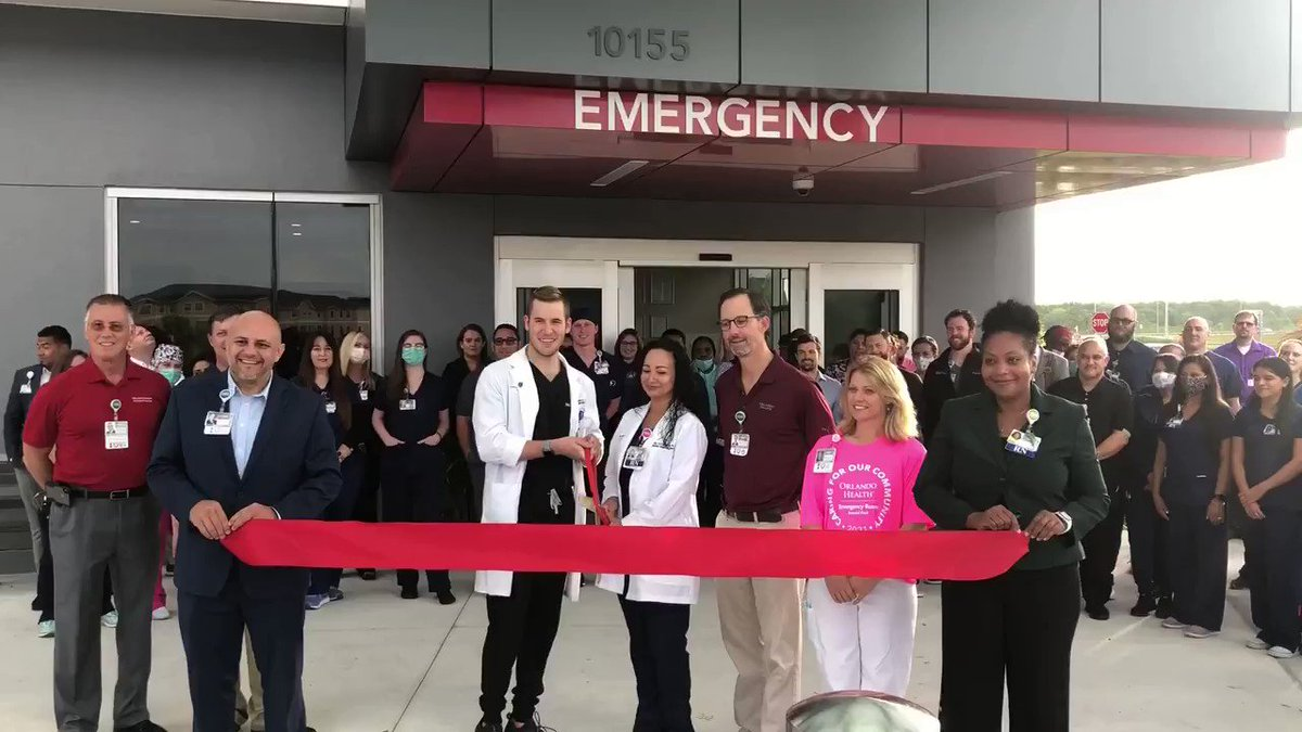 Thank you to everyone who joined us at our ribbon-cutting ceremony in honor of the upcoming Orlando Health Emergency Room - Randal Park grand opening on June 7th! #ChooseOrlandoHealth #Healthcare #GrandOpening https://t.co/eBE0QLuGXq