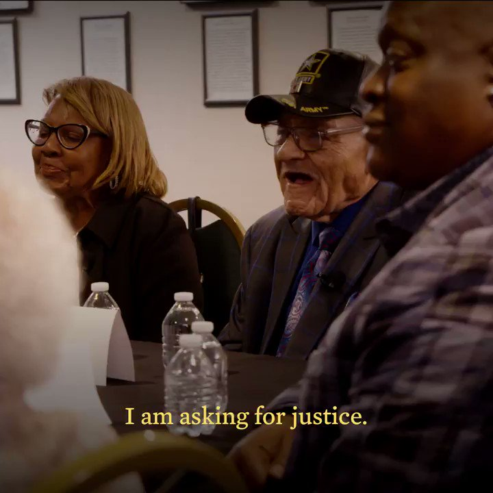 I met with survivors of the Tulsa Massacre this week to help fill the silence. Because in silence, wounds deepen. And, as painful as it is, only in remembrance do wounds heal. https://t.co/0mLMRAhJiD