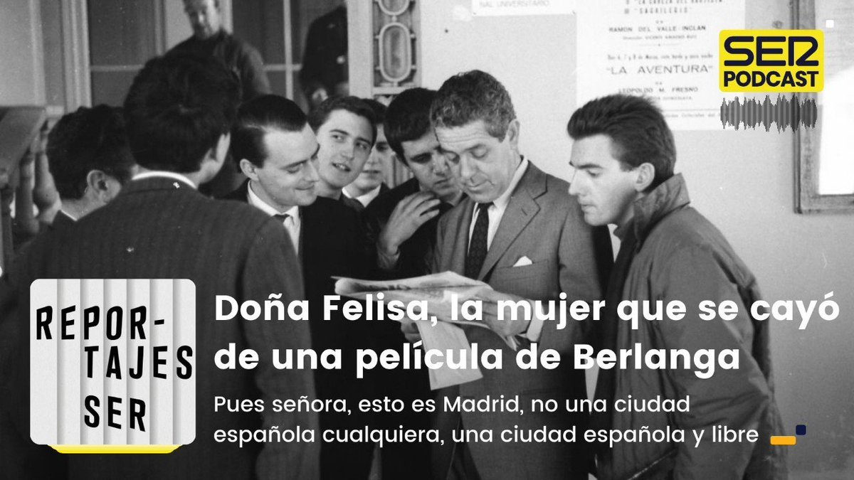 Image for the Tweet beginning: 🎧 Doña Felisa, la mujer