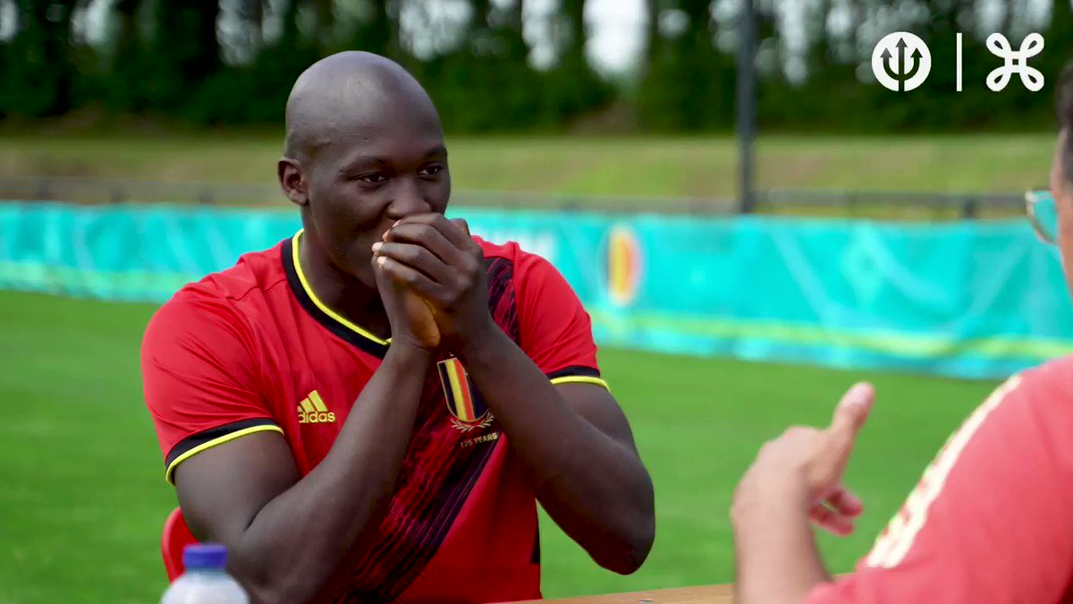 .@PabloOfficiel does a pre-EURO check with @RomeluLukaku9 before #EURO2020! 😂🇧🇪 #thinkpossible #thebelgianheartbeat #DEVILTIME  @proximus https://t.co/4sujYFOI4R