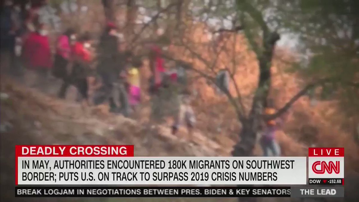 Image for the Tweet beginning: BREAKING: CNN reports 180,000 illegal