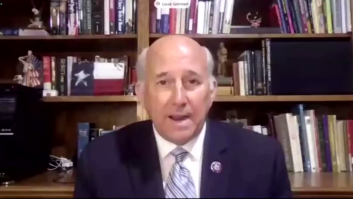 At a hearing of the House Natural Resources Committee, Republican Congressman Louie Gohmert inquired if federal agencies can change the orbit of the moon or the Earth to fight climate change https://t.co/L6g8lPHY6D