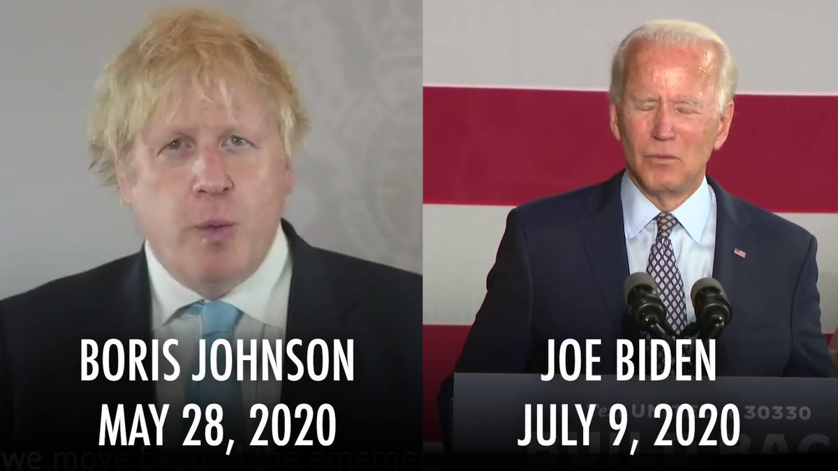 """Serial plagiarist Joe Biden strikes again.   This time plagiarizing British Prime Minister Boris Johnson's """"Build Back Better"""" slogan. https://t.co/LJvZHSu1R4"""