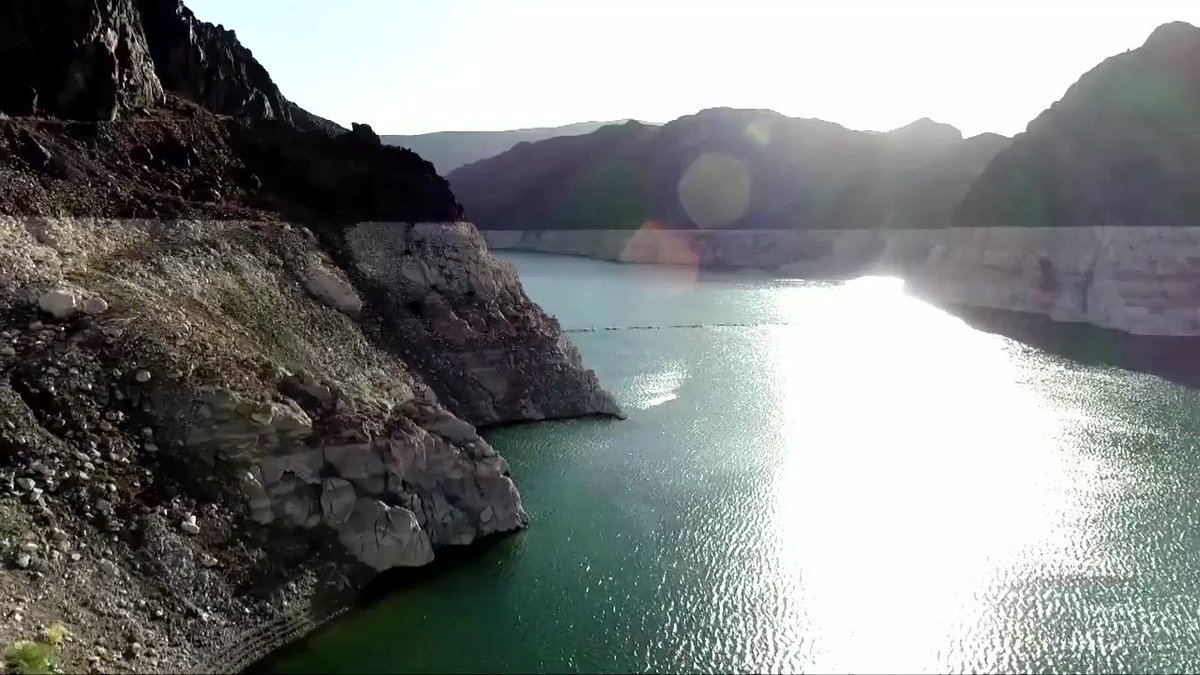 The reservoir created by Hoover Dam, an engineering marvel that symbolized 20th Century American ingenuity, has sunk to its lowest level ever, underscoring the gravity of the extreme drought across the U.S. West https://t.co/NfIeKX6lxu https://t.co/1TOCILNoub