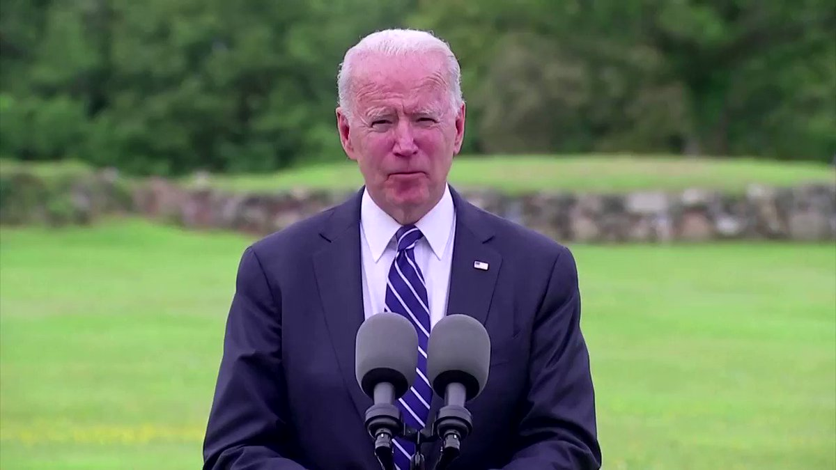 President Joe Biden said that a donation of 500 million doses of the Pfizer COVID-19 vaccine to other countries would supercharge the battle with the virus and comes with 'no strings attached' https://t.co/xV1qadBQnF https://t.co/g4KZuLz9Qi