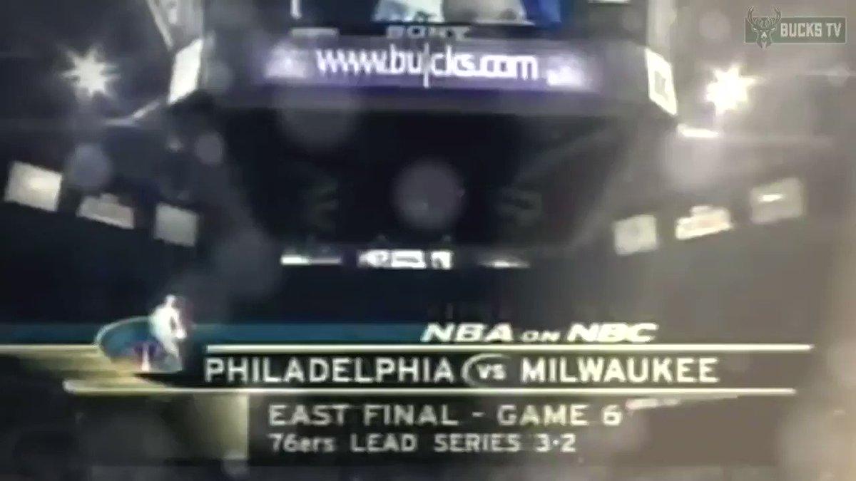 #NBAVault: Ray Allen und die Milwaukee @Bucks gewinnen Spiel 6 in den Eastern Conference Finals 2001!  #FearTheDeer #NBASundays https://t.co/POgBGuOp7u