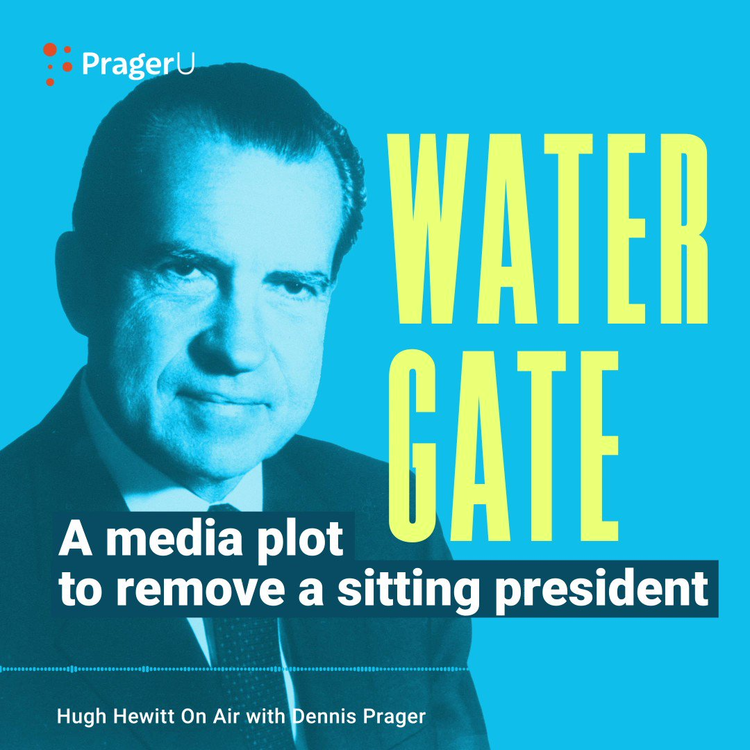Image for the Tweet beginning: REVEALING. Watergate wasn't just a