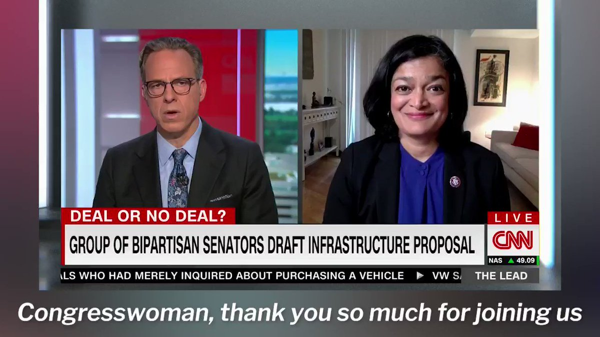 We have no reason to believe that GOP senators (NONE of which voted for the relief package) will come along with us on passing a Jobs and Families Plan that makes meaningful investments in our communities.  So why are we still negotiating? It's time to deliver. https://t.co/uOxIKqyOzl