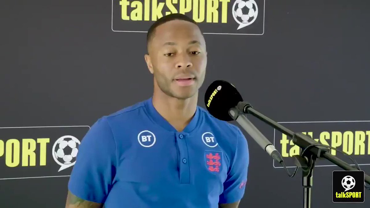 """""""You can play a lot of games, but it's all about mentality, where your head is at.""""  Raheem Sterling tells @FayeCarruthers that he's not feeling tired after a long season.  Should Raheem start against #CRO? https://t.co/eg6uVKSCim"""