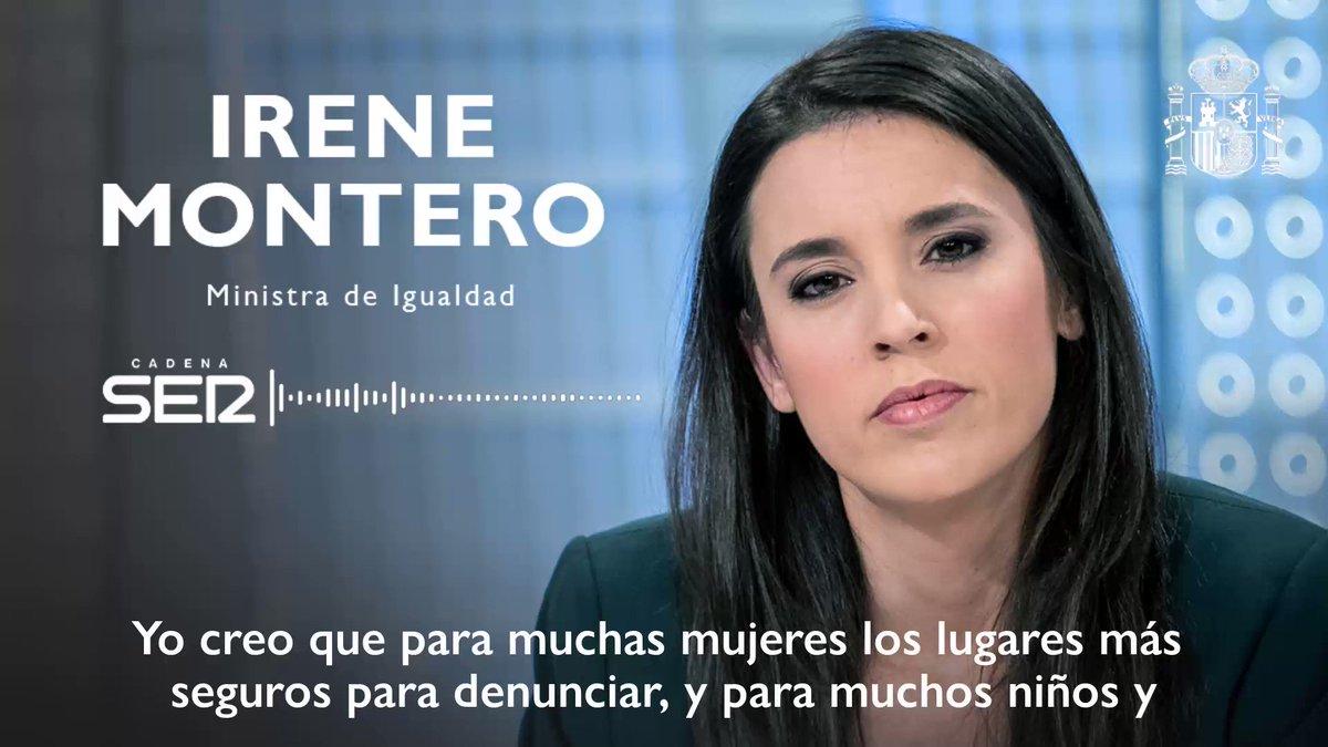 Twitter Irene Montero. Es importante lanzar un mensaje unánime...: abre ventana nueva