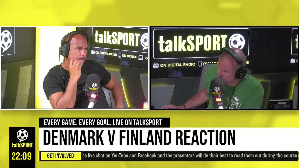"""""""Where are we as a society that someone decided they should film the situation?""""  """"He deserves dignity in this moment.""""  @AdamCatterall hits out at TV broadcast coverage of the Christian Eriksen incident. https://t.co/iBCxVnGnDS"""