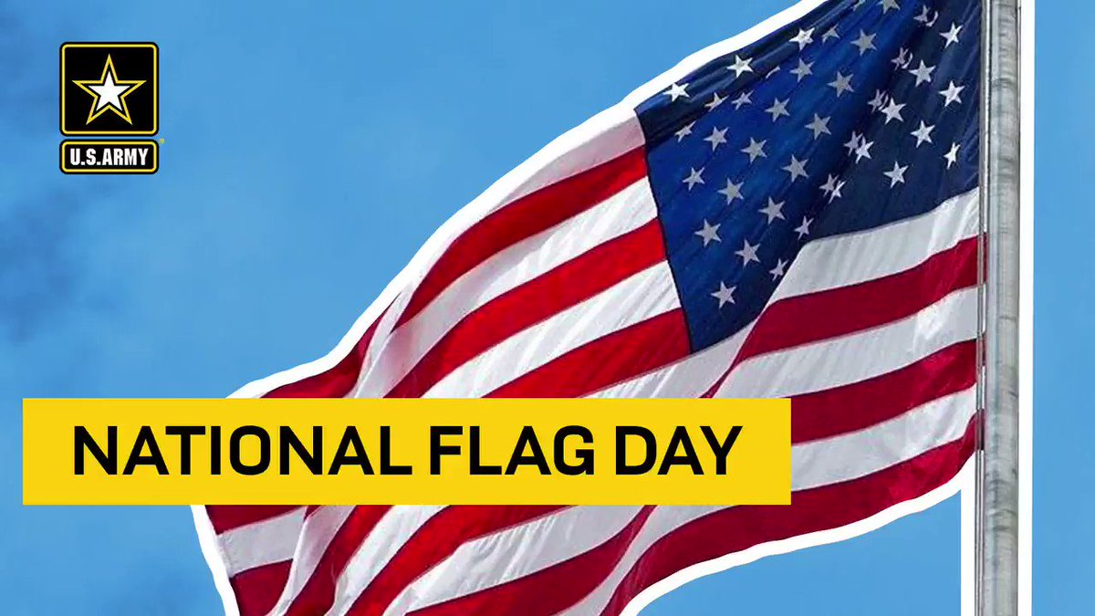 O say, can you see 🇺🇸   The first celebration of the U.S. Flag birthday was held in 1877 on the 100th anniversary of the Flag Resolution of 1777.   #ArmyBday   #SupportingTheNation https://t.co/uqV1RZojxV