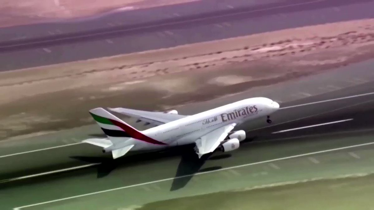 WATCH: The global health crisis drags Emirates to its first loss in 33 years. With no domestic market to cushion against border restrictions and closures, the airline's entire operation is dependent on international travel https://t.co/3mehKpoaun https://t.co/OkwQKyNGVx