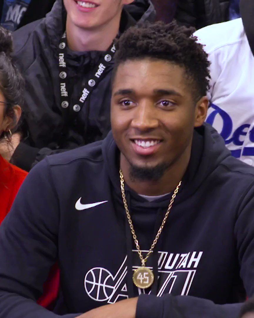 .@spidadmitchell of the @UtahJazz has been nominated for the Seasonlong NBA Cares Community Assist Award pres. by @kpthrive!   To vote for Donovan, retweet this post, or post with #NBACommunityAssist + #DonovanMitchell  OR   Vote here: https://t.co/Ppc1EkX6u6 https://t.co/GYKiNSMPyO