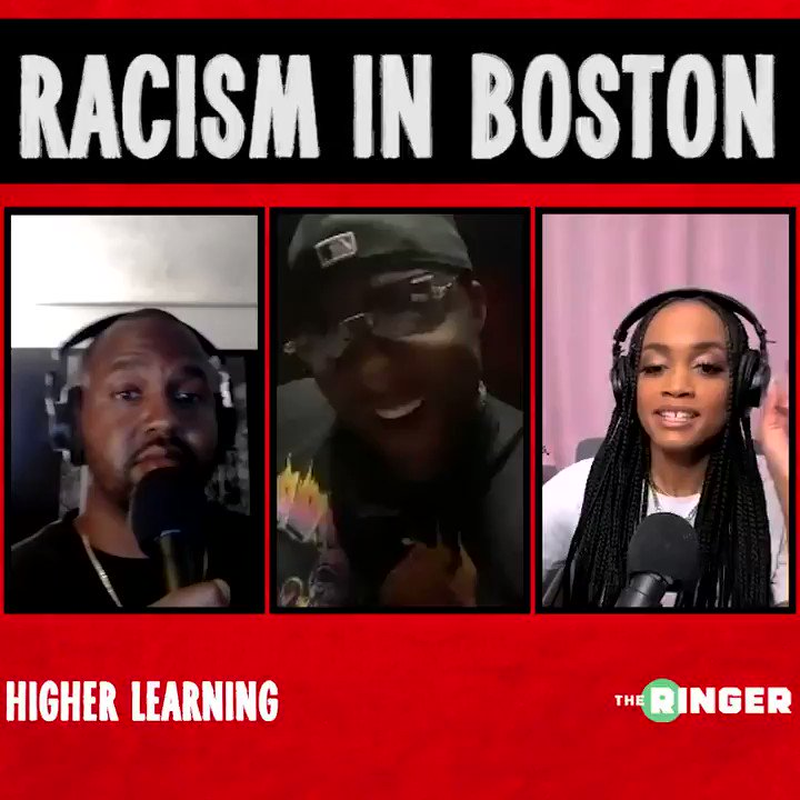 Glen Davis says he's NEVER experienced racism in Boston, and that Kyrie Irving has no proof that fans have ever treated him that way. Also says Kyrie should move forward from the racism, all we all should. https://t.co/6xNtjdAzWR