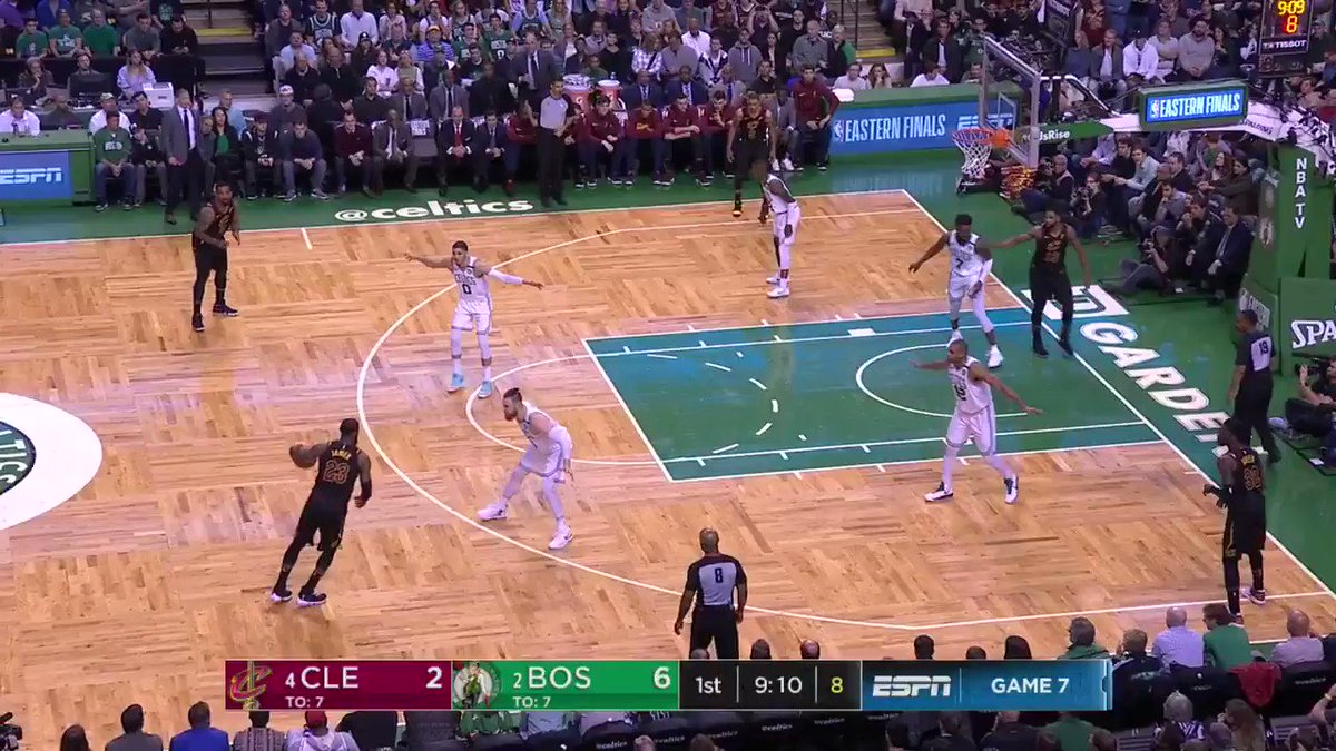 Kevin Durant played all 48 minutes tonight in Game 5, the first time a player has done so in an #NBAPlayoffs game since LeBron James during Game 7 of the Eastern Conference Finals on May 27, 2018! #NBAVault https://t.co/GqJA1PWesb