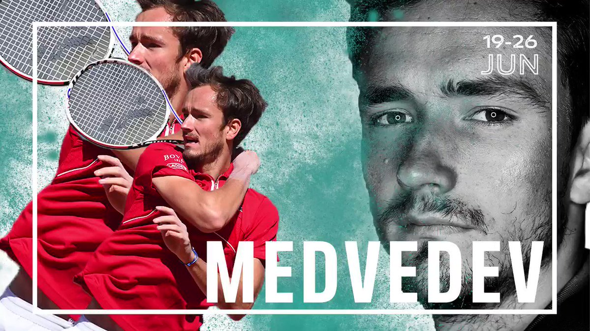 📢📢📢   World No. 2 🇷🇺 @DaniilMedwed receives a wildcard and he will play in Mallorca Championships. 🙌🏻  @atptour   @ATPTour_ES   #ATPMallorca https://t.co/vbnRSkDX5L