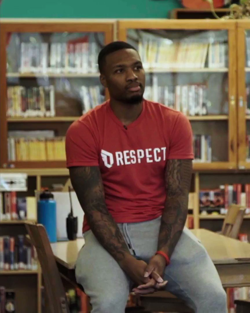 .@Dame_Lillard of the @trailblazers has been nominated for the Seasonlong NBA Cares Community Assist Award pres. by @kpthrive!   To vote for Damian, retweet this post, or post with #NBACommunityAssist + #DamianLillard  OR  Vote here: https://t.co/Ppc1EkX6u6 https://t.co/sJoHvi5QDM