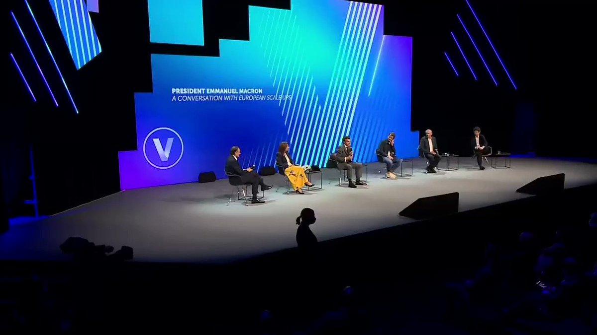 Le succès de la tech, ce que l'on est en train de faire, c'est bon pour TOUT le pays ! #VivaTech