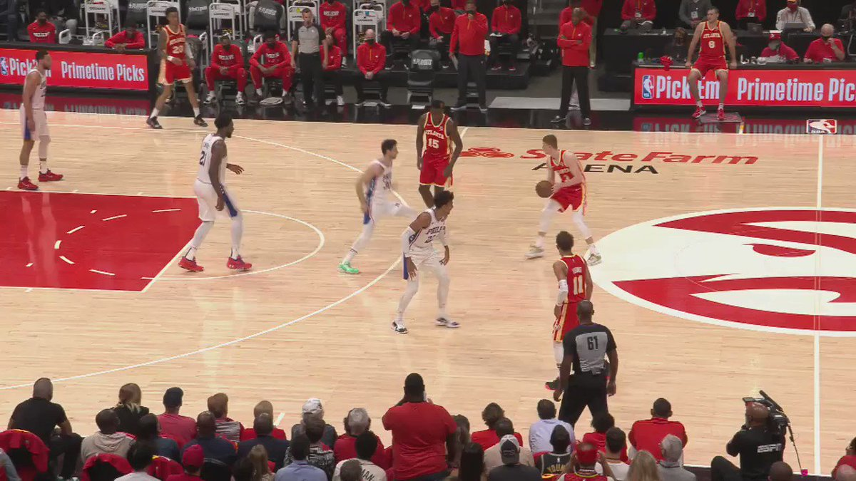 Matisse Thybulle's defense is elite!   #NBACourtOptix powered by @Microsoft Azure reveals how Matisse's perimeter defense is impacting offenses three point shooting. Tune in as the Sixers take on the Hawks tonight! https://t.co/Ya1TUBYnkY