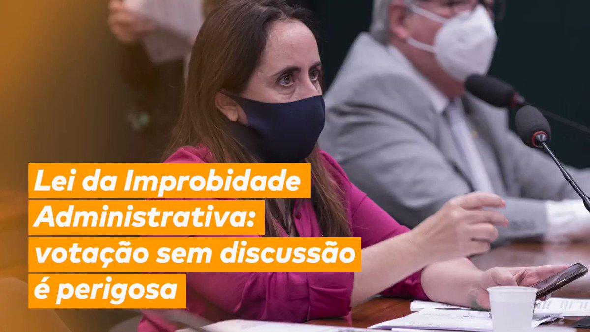Aprovado o texto substitutivo do projeto de lei que altera - para pior - a Lei de Improbidade Administrativa.  Um retrocesso para o Brasil que luta pela moralidade na administração pública!