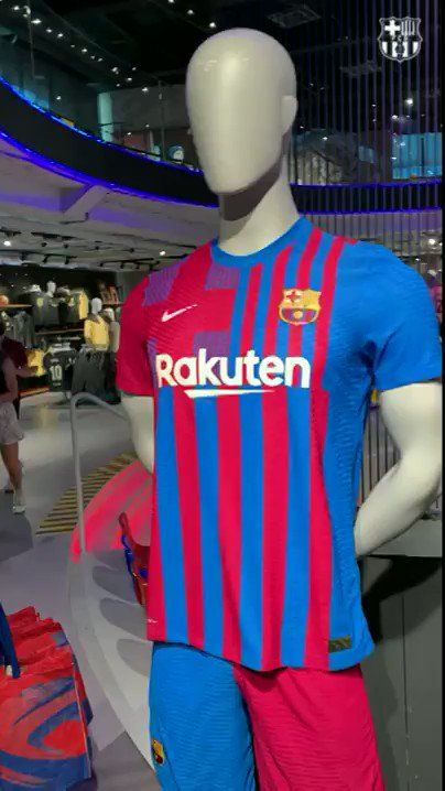Image for the Tweet beginning: Now available! The new Barça