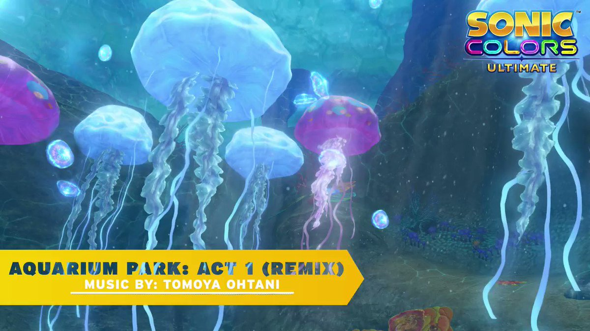 Image for the Tweet beginning: Aquarium Park is back and