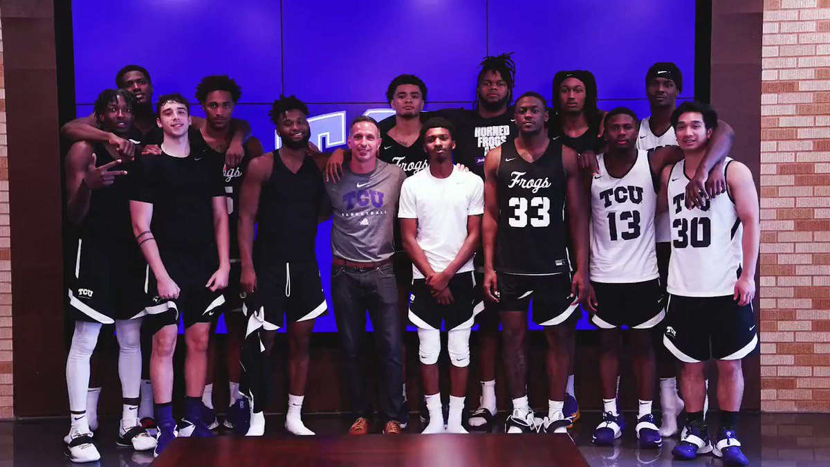 """🗣️""""If you close yourself off from people who don't look like you or have the same background as you, then you'll miss some of the most important lessons and friendships in your life too."""" - @damonwest7   #GoFrogs https://t.co/PFpTnaxuQ5"""