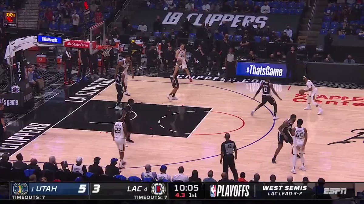 PG-13 did it all in Game 6. 😤 28 PTS 9 REB 7 AST 3 STL  The @LAClippers are #NBAWCF presented by AT&T bound, with Game 1 vs. PHX on Sunday at 3:30pm/et on ABC. #ThatsGame #NBAPlayoffs  https://t.co/gDWVBgMoxt