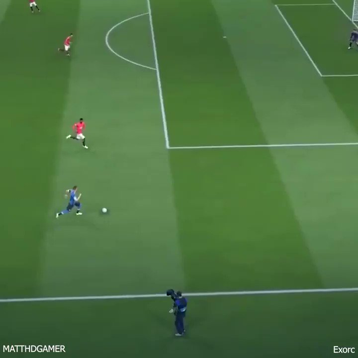 FIFA with a bowling ball.. #FIFA21 https://t.co/goFgH3dU9A