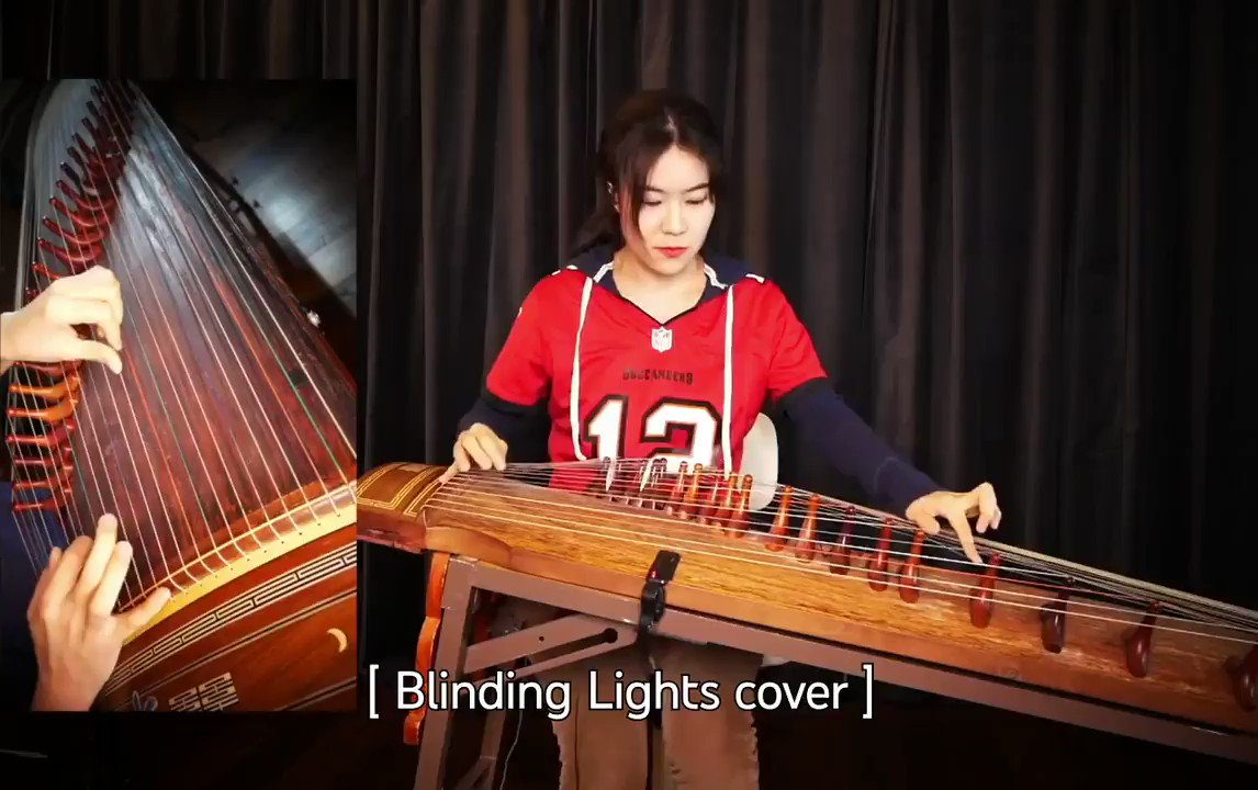 This @Lunaxmusic Gayageum cover of The Weeknd hits different 🎶 https://t.co/63StmpFZp8