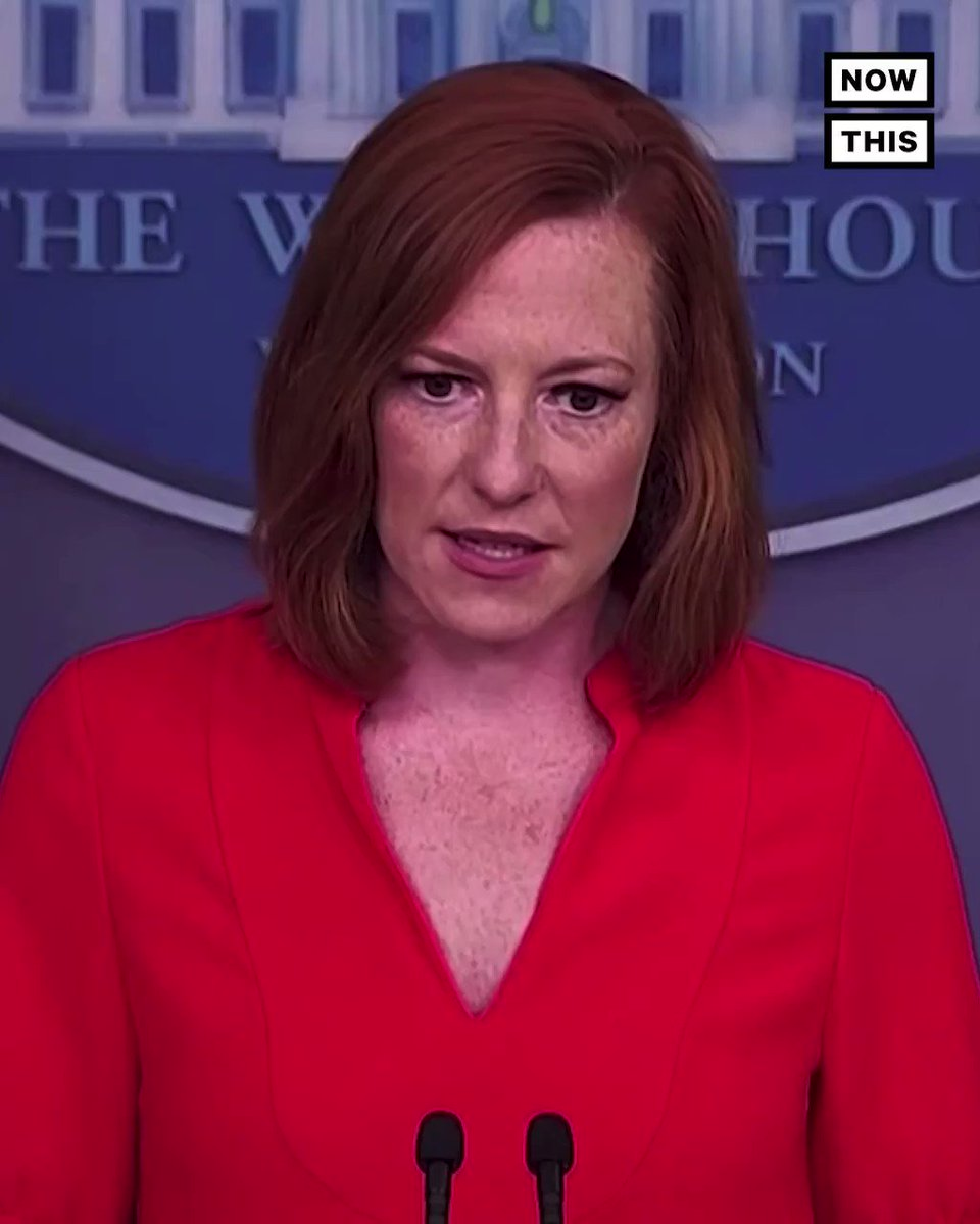 'This will be a fight of his presidency'— WH press sec Jen Psaki says Biden remains committed to expanding voting rights even if the For the People Act fails to pass in the Senate https://t.co/VzRFg2q3Js