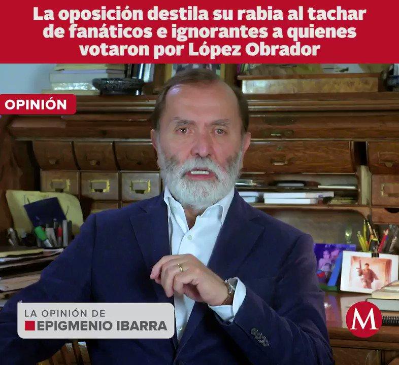 El compañero @epigmenioibarra pone el dedo en la llaga. No dejen de compartir su videocolumna.