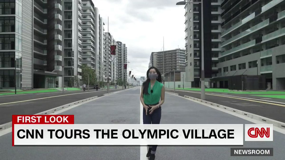CNN's @selinawangtv takes a look at Tokyo's Olympic Village, a city within a city where elite athletes will spend their time when they're not competing for Olympic gold: https://t.co/VgRGfZyEjz https://t.co/g6hKBjTrh2