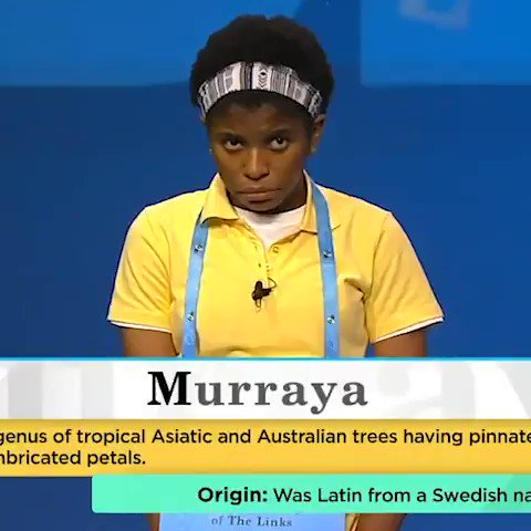 13-year-old Zaila Avant-garde of Louisiana is your 93rd Scripps National #SpellingBee champion ‼️  The first African-American winner of the competition 👏 https://t.co/y2Y5dAGcVN