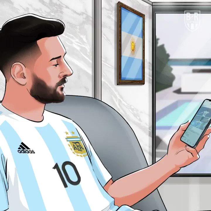 Leo Messi finally wins an international trophy 🙌 @brfootball https://t.co/12utsRgT7I