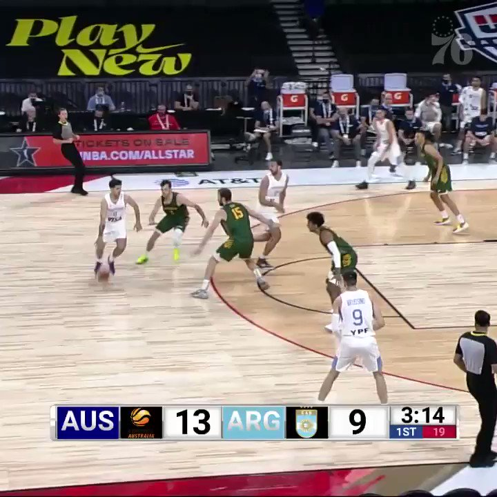 the kid is shining for the world!   we got some @MatisseThybulle highlights to start your day 🇦🇺 https://t.co/uHpxot869g