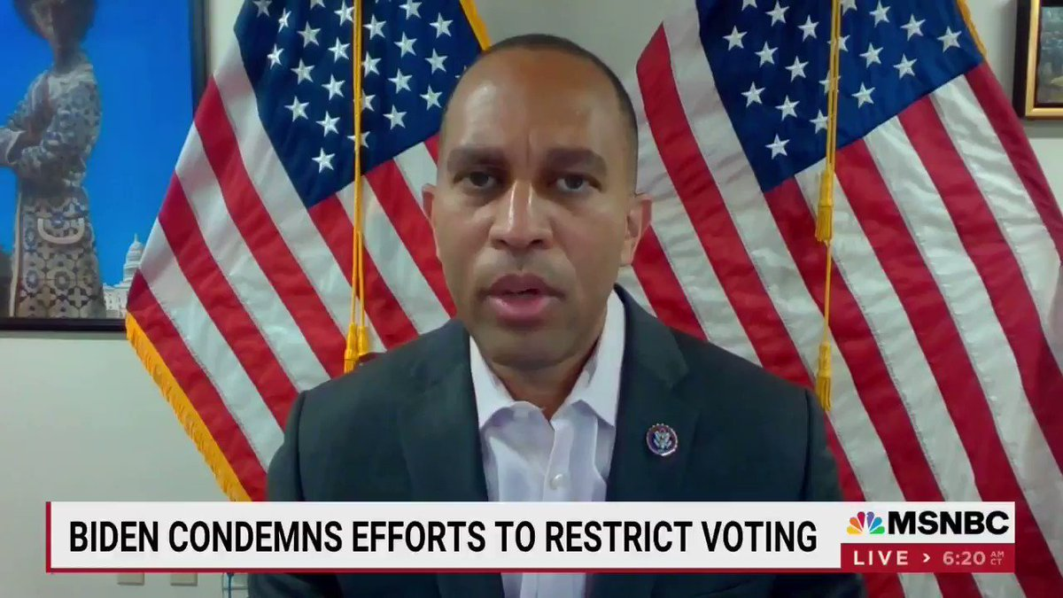 Let's be clear.  Exceptions to the filibuster already exist.  Reforming the rule to address voter suppression is the LEAST we can do. https://t.co/XcQnaTbkim