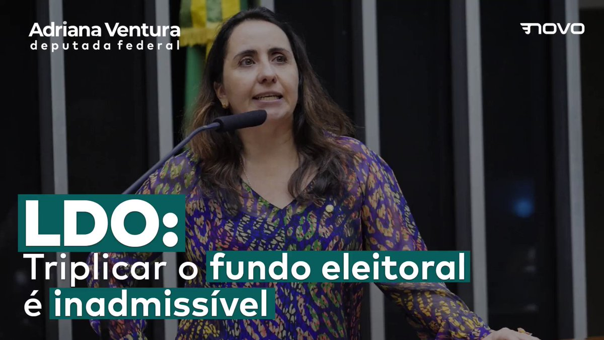 Seis bilhões para pagar campanha política é um ABSURDO!  #adrianaventura #diganãoaofundão #FundaoNao #fundoeleitoral