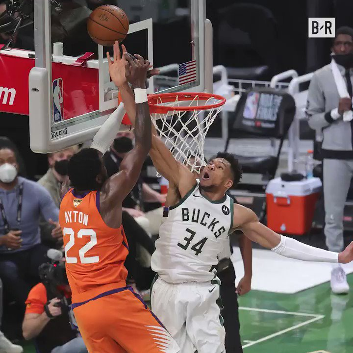 Giannis has powered the Bucks to the Finals 💪  Check out his best moments in the playoffs so far  (@coronaextrausa) https://t.co/ep8OJhnPl8