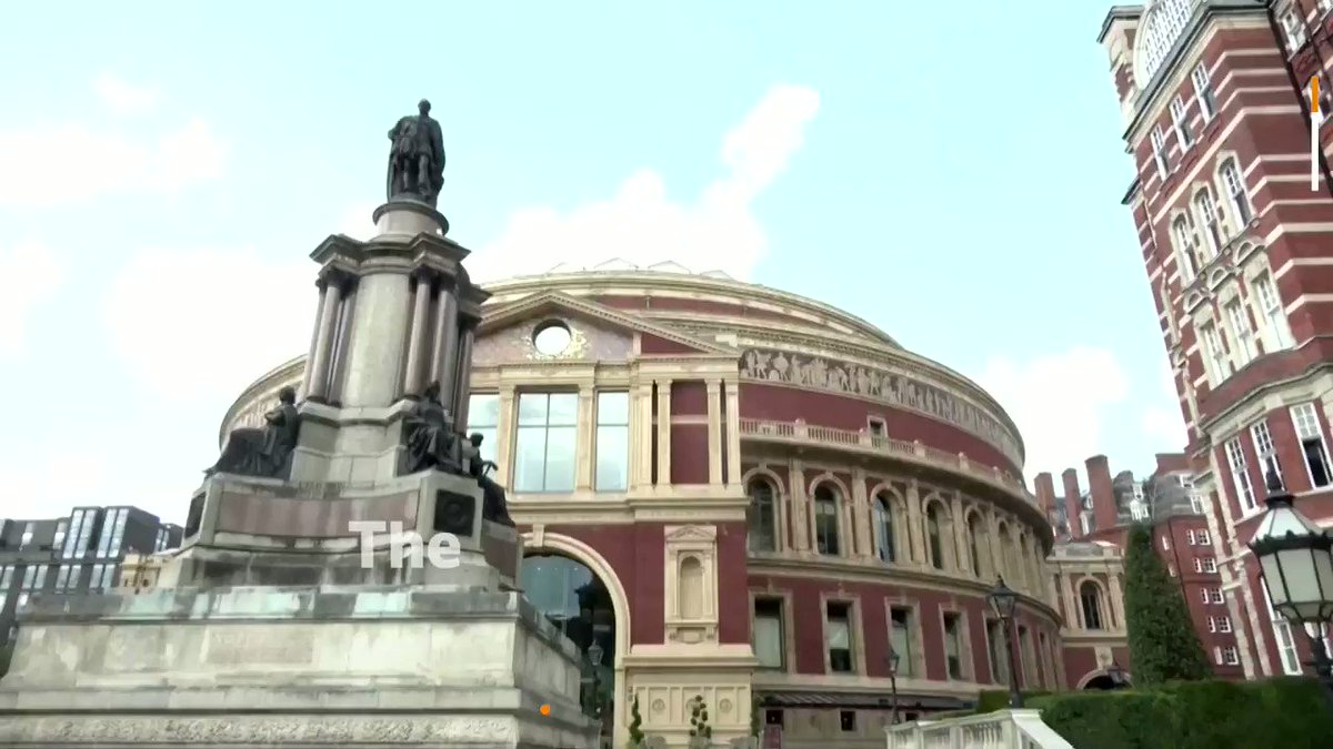 WATCH: Nearly 300 performers took part in the birthday concert called 'A Circle of Sound' to celebrate the Royal Albert Hall's 150th anniversary https://t.co/jlWosagP6p https://t.co/0A6Zju7AWf