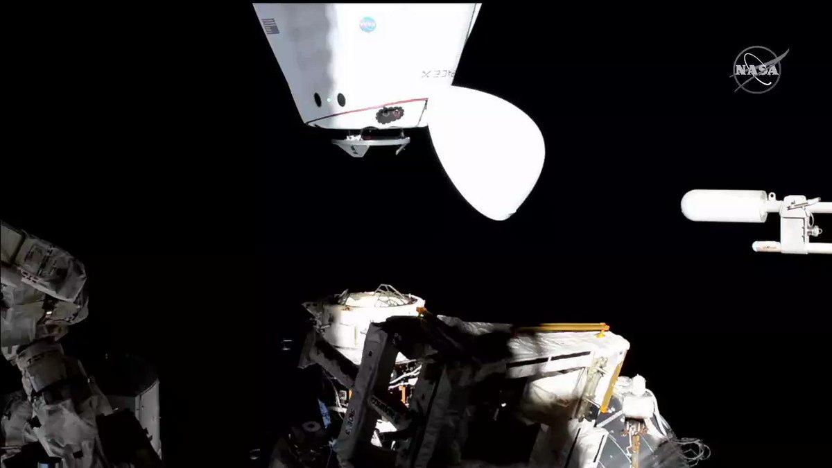 @NASA's photo on SpaceX