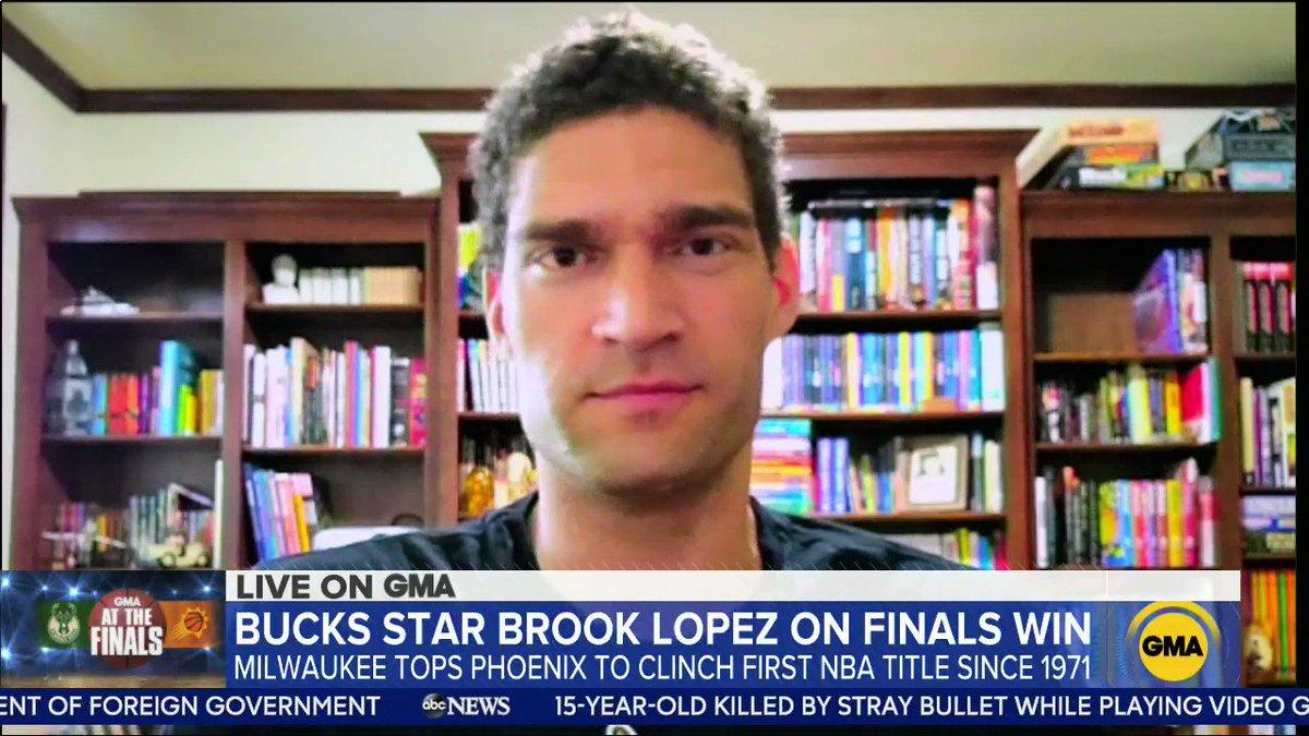 @GMA's photo on Brook Lopez