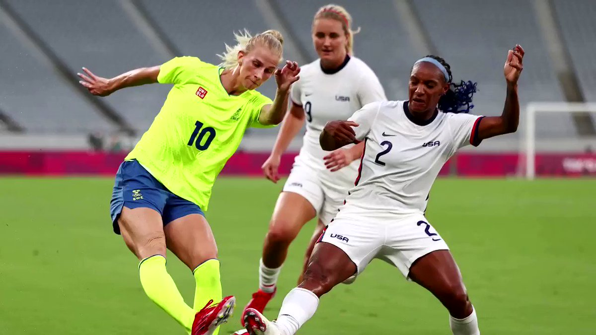 The world champion U.S. women's soccer team was trounced by Sweden in a 3-0 upset, ending an epic 30-month winning streak on the first day of the #TokyoOlympics women's soccer tournament https://t.co/67QSVhxQMu https://t.co/kTqlAWOu8W