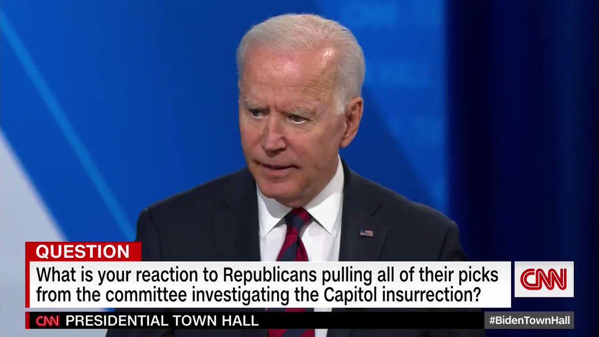 @CNNPolitics's photo on #BidenTownHall